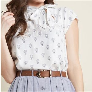 ModCloth Up, Up and Amaze top UK 12 / M